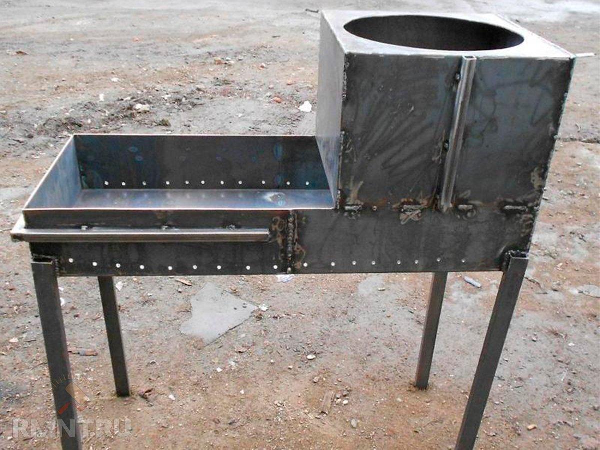 Как сложить полноценную печь-барбекю с казаном для дачи