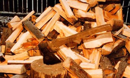 Выбор дров для шашлыка -