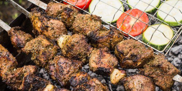 Кавказский шашлык из баранины рецепт