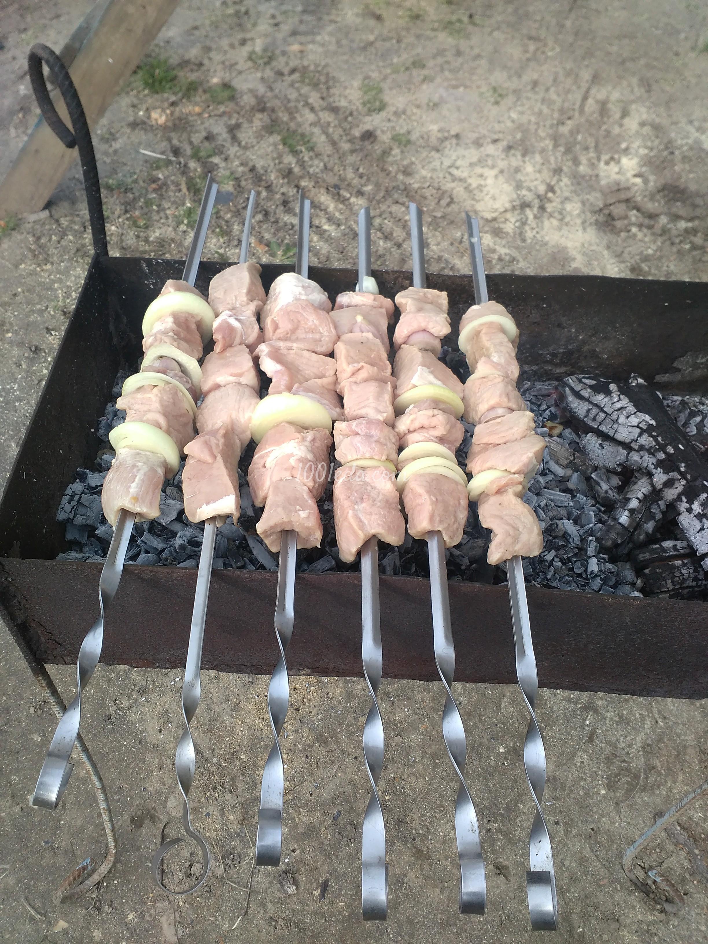 Как приготовить шашлык из свинины на минералке