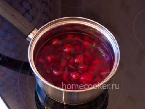 Соусы ягодные к мясу