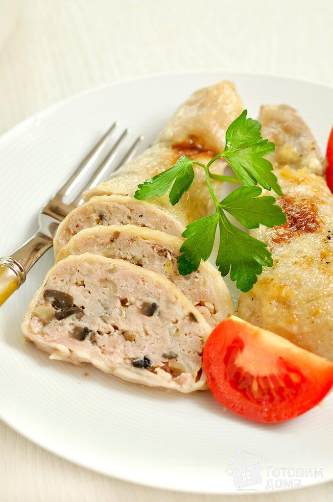 Окорочка фаршированные. как вкусно приготовить блюдо из курицы.