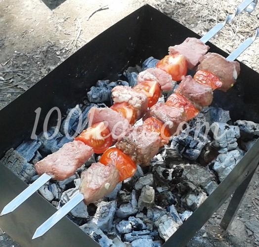 Шашлык из свинины в гранатовом соке