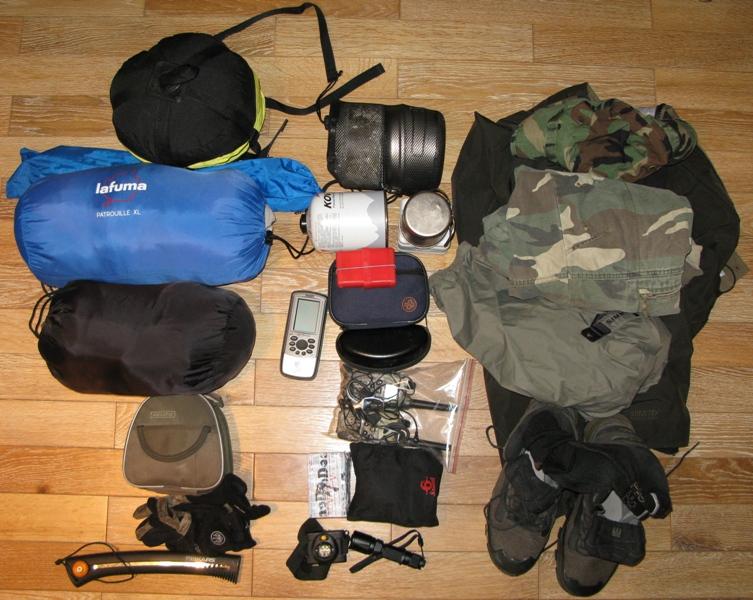 Собираемся в поход: что взять? советы туристов.