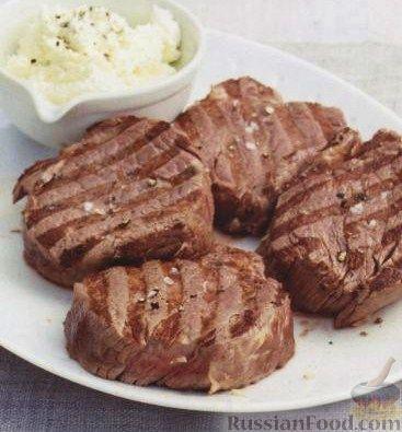 Стейк из говядины в духовке