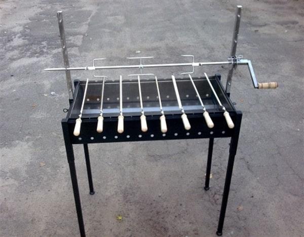 Мангал с электроприводом шампуров. самодельный набор | блог виталия павлова| блог виталия павлова