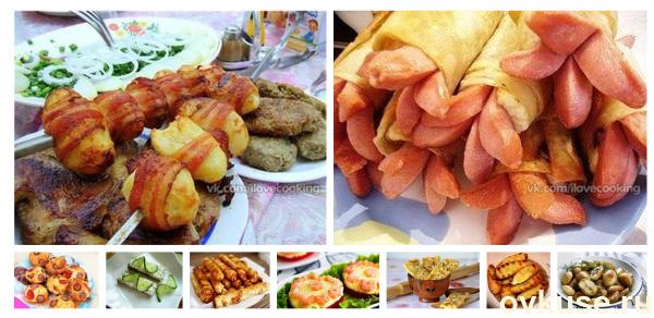 Пикник на природе: изысканные рецепты закусок и блюд