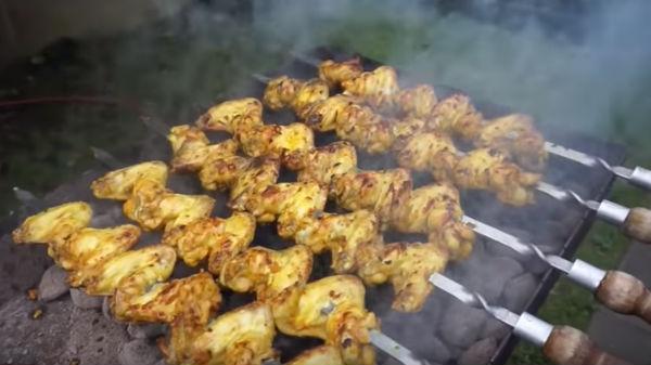 Маринад для шашлыка из куриных крылышек