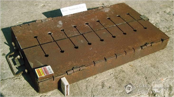 Мангал из металла: нюансы технологии изготовления