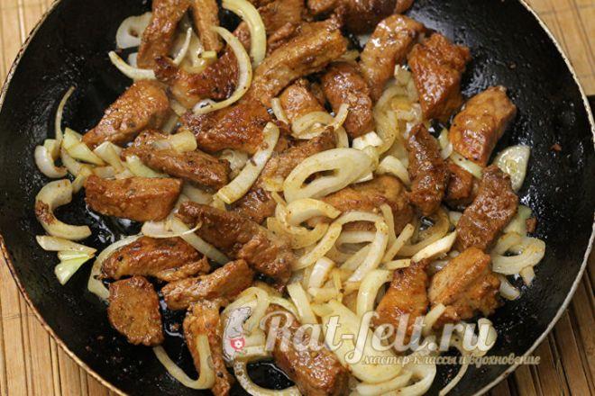 Шашлык на сковороде - 6 домашних вкусных рецептов приготовления