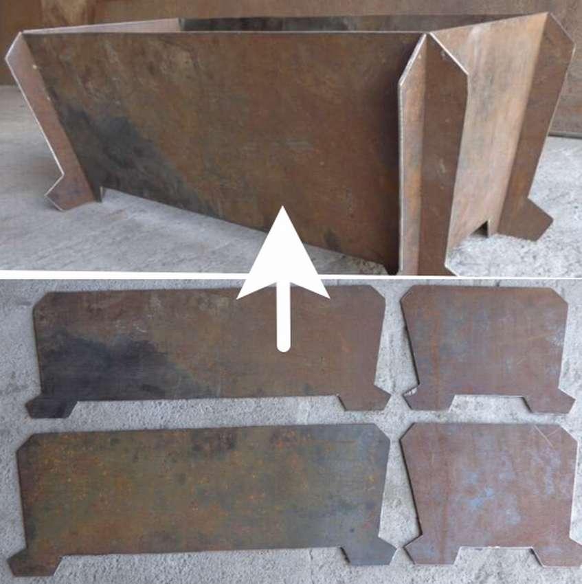 Мангалы из металла своими руками. размеры, фото и инструкции