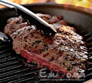 Как жарить мраморную говядину на сковороде