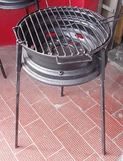 Мангал из дисков (40 фото): изготовление из автомобильных колес мангал своими руками, как сделать из колесных дисков от автомобиля