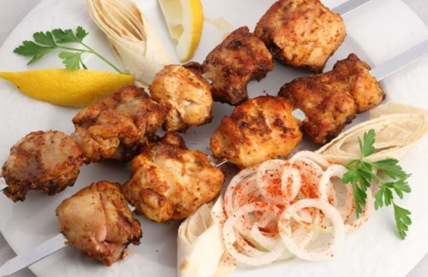 Шашлык из рыбы в духовке. как приготовить самый сочный шашлык
