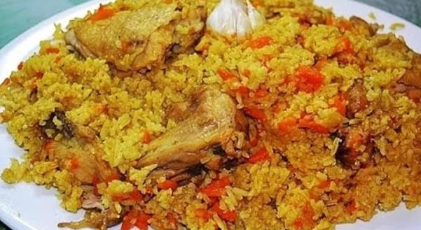 Рецепт: готовим плов из курицы