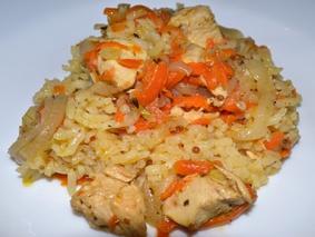 Плов из курицы в казане: пошаговый рецепт как приготовить вкусно