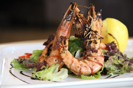 Жареные креветки на гриле: рецепт средиземноморской кухни
