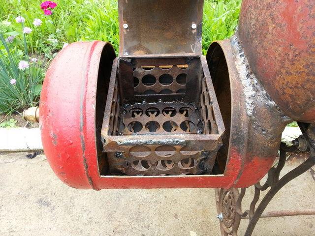 Коптильни из газового баллона своими руками (63 фото): сделать мангал горячего или холодного копчения