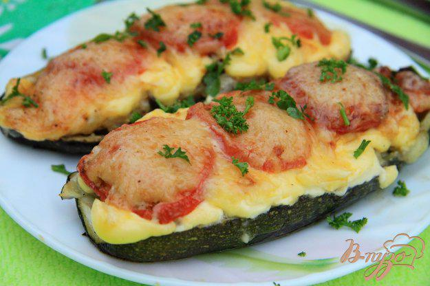 Блюда из кабачков с фаршем в духовке: рецепты с фото пошагово
