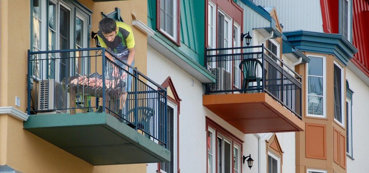 Готовка на балконе на мангале и гриле