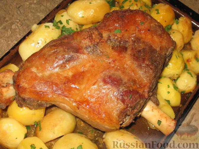 Как приготовить баранину в духовке  приготовление в рукаве, без запаха