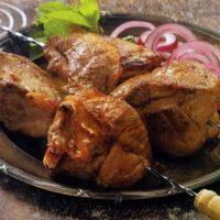Комментарии к рецепту: баранина, маринованная в киви и мяте
