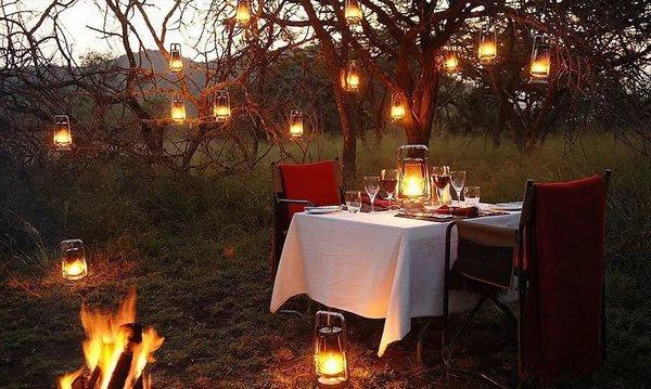 Романтический пикник на природе